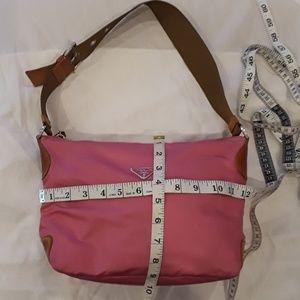 Prada Bags - Prada Authentic nylon leather hobo shoulder bag